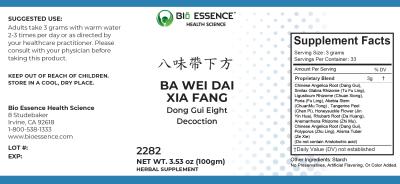 Ba Wei Dai Xia Fang