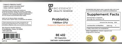 Probiotics 1 Billion CFU